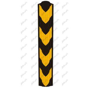 ضربه گیر ستون یا محافظ ستون شبرنگی و لانه زنبوری در ابعاد80 سانتی متر