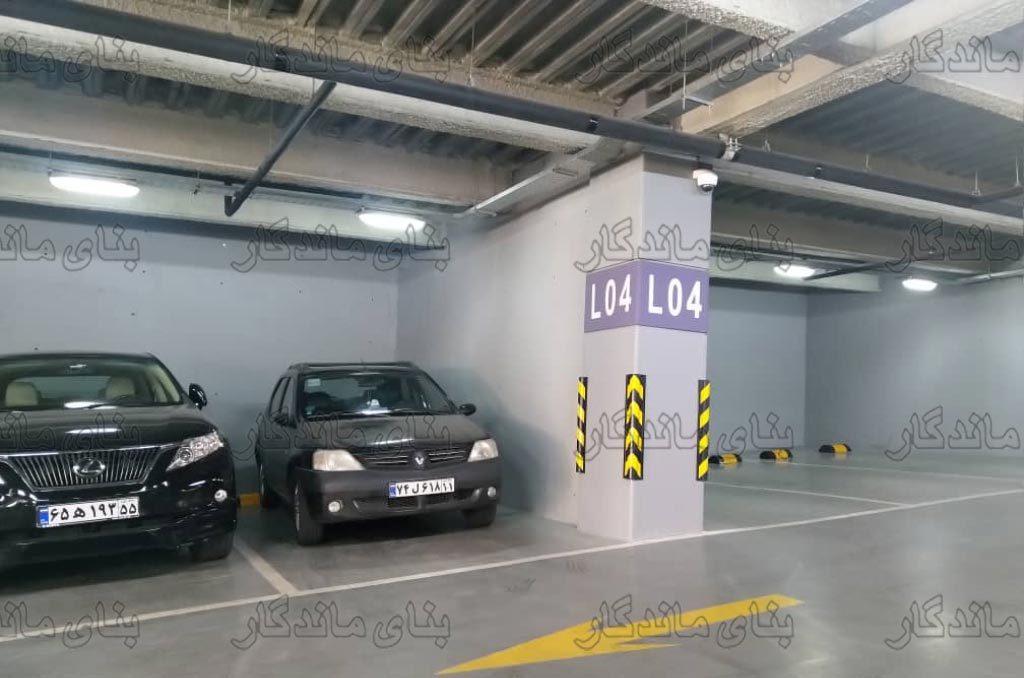 استاپر ایجاد نظم در پارکینگ