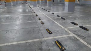 استاپر برای حد نهایی فضای پارکینگ