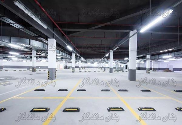 ایجاد نظم در فضاب پارکینگ