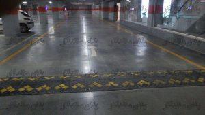 نصب سرعت گیر در مسیر حرکت خودرو تصویر (تجهیزات پارکینگ)