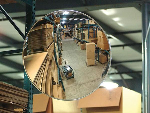 آینههای محدب بدون فریم مناسب برای کلیه انبارها