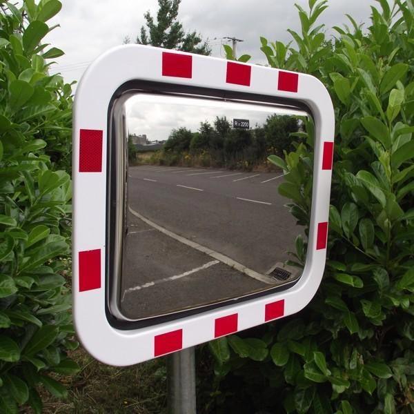 آینهی محدب استیل قابل نصب در جاده