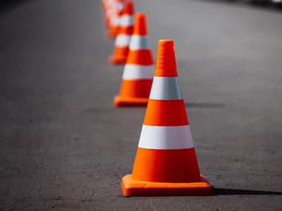 مخروط ایمنی یا ترافیکی