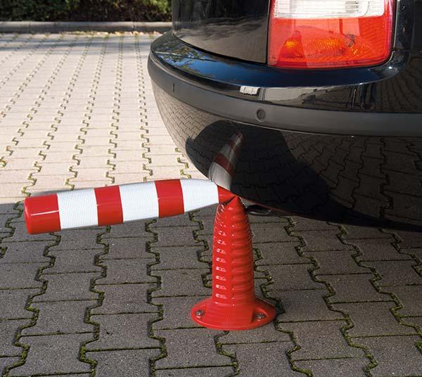 ایمنسازی معابر با استفاده از استوانههای ترافیکی